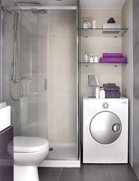 masina de spalat in baie