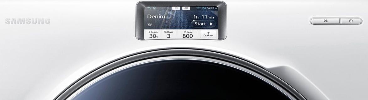 Samsung Crystal Blue WW10H9600EW touch screen