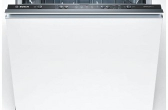 Bosch SMV50D60EU, Masina de spalat vase incorporabila, 12 Seturi, 5 Programe, Clasa A+, 60 cm