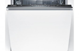 Bosch SMV40C10EU, Masina de spalat vase incorporabila, 12 seturi, 4 programe, 1 functie speciala, 60 cm, Clasa A+