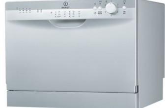 Indesit ICD661S, Masina de spalat vase, 6 Seturi, 6 Programe, Clasa A, Silver