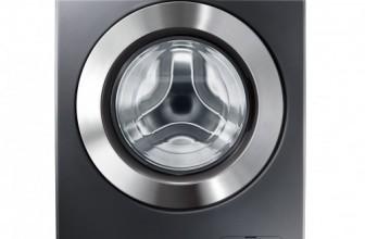 Samsung WF60F4E5W2X, Masina de spalat rufe SLIM, 1200 RPM, 6 kg, Clasa A++, Inox