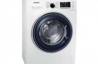 Samsung WW70J5345FW/LE EcoBuuble, Masina de spalat rufe, 7 kg, 1200 RPM, Clasa A+++, 60 cm, Alb