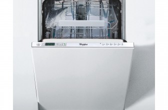 Whirlpool ADG 301, Masina de spalat vase incorporabila, 10 Seturi, 6 Programe, 45 cm, Clasa A+, LED, Optiune programare intarziata