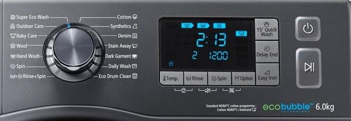 interfata Samsung WF60F4E5W2X