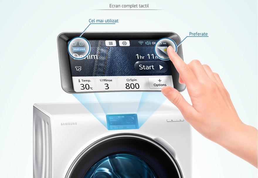 Samsung Crystal Blue WW10H9600EW