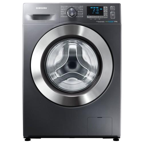 Masina de spalat rufe Samsung Eco Bubble WF80F5E5W4X, 8 kg, 1400 RPM, Clasa A+++, Inox