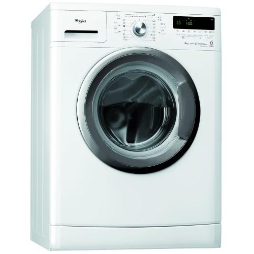 Masina de spalat rufe Whirlpool AWO/C 81400, 6th Sense Colours, 8 kg, 1400 RPM, Clasa A+++