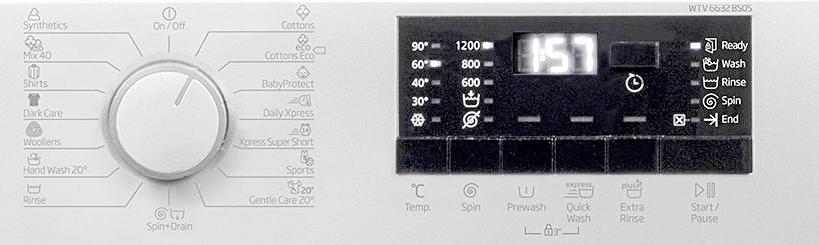 Beko WTV6632BSOS programe si functii