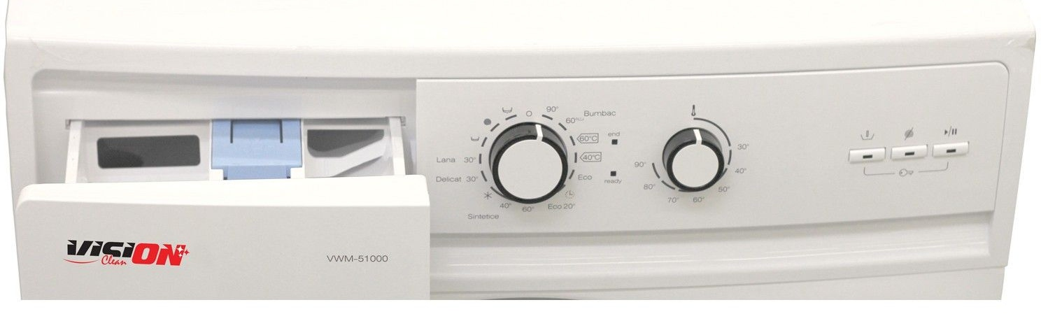 Vision Clean VWM-51000 panou comenzi review pareri pret functii masina de spalat ieftina