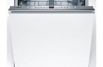 Bosch SMV45AX03E – Review, Pret si Pareri masina de spalat vase incorporabila, foarte incapatoare.