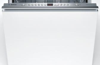 Bosch SMV46AX01E – Masina de spalat vase, 12 seturi, 6 programe, Silence Plus