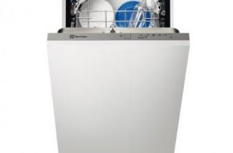 Electrolux ESL4201LO, Masina de spalat vase slim incorporabila, 9 seturi, 5 programe, Clasa A+, 45 cm