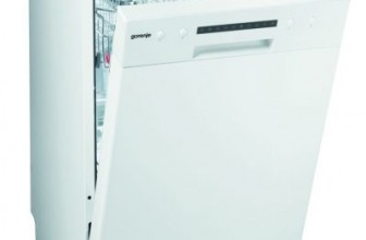 Gorenje GS52115W – Review, Pret si Pareri masina de spalat vase