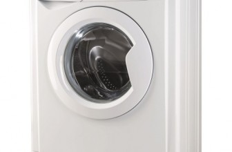 Indesit EWSD 51051 W EU, Masina de spalat rufe, 1000 rpm, 5 KG, Clasa A+, Alb