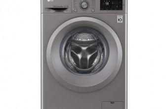 LG F4J5TN7S, Masina de spalat rufe, Direct Drive, 8 kg, 1400 RPM, Clasa A+++, 60 cm, Argintiu