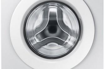Samsung WW80J5345MW/LE EcoBubble, Masina de spalat rufe, 8 kg, 1200 RPM, Clasa A+++, 60 cm, Alb