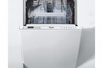 Whirlpool ADG 422 6th Sense, Masina de spalat vase incorporabila, 10 Seturi, 7 Programe, Display LED, 45 cm, Clasa A++