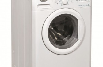 Whirlpool AWO/C61000, Masina de spalat rufe 6th Sense, 1000 RPM, 6 kg, Clasa A++, Display LCD, Alb