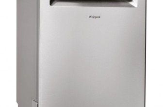 Whirlpool WFO 3T223 6P X, Masina de spalat vase, 6th Sense, Power Clean, 14 seturi, 10 programe, Clasa A++, 60 cm, Argintiu