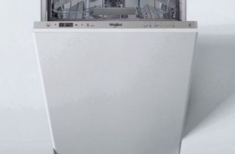 Whirlpool WSIC 3M17, Masina de spalat vase incorporabila, 10 seturi, 6 programe, 6th Sense, Clasa A+, 45 cm